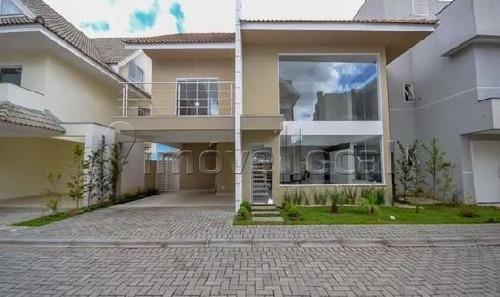 Casa Em Condomínio Com 3 Dormitórios À Venda Com 276m² Por R$ 1.360.000,00 No Bairro Santo Inácio - Curitiba / Pr - Ca0059