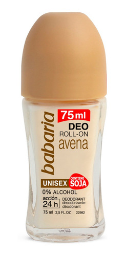 Babaria Desodorante Roll-on Avena 75ml