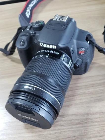 T5i + 18-135mm Touchscreen Um Ano De Uso, Câmera Canon 700d