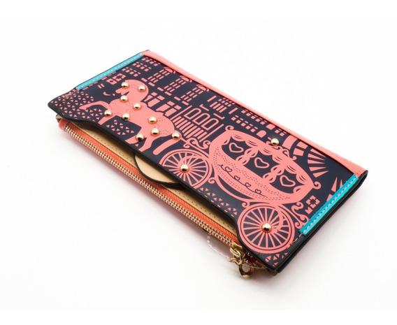 Billetera Para Dama / Mujer / Diseño Carroza - Importada