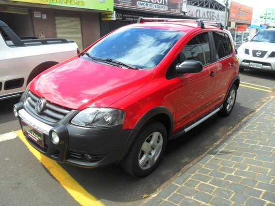 Volkswagen Crossfox 1.6 Vermelho 2010