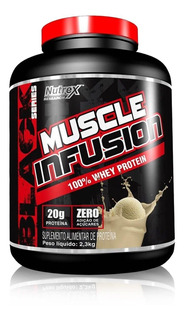 Muscle Infusion 100% Whey Protein 2,250kg Nutrex - Original