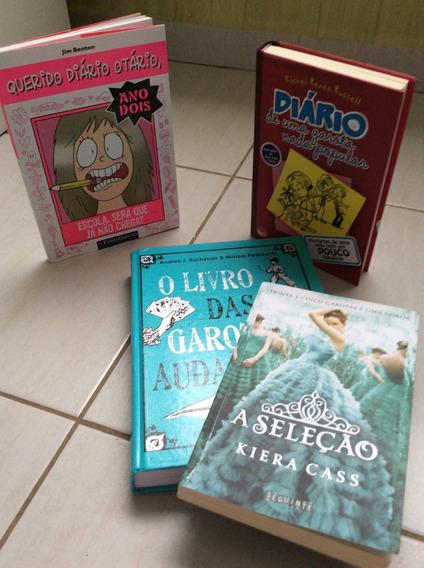Kit De Livros Juvenis Para Meninas - A Seleção....