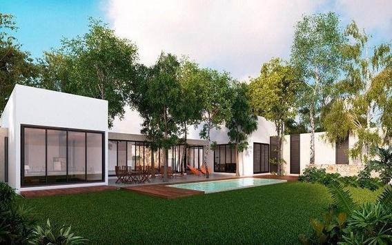 Residencia En Privada Residencial Dzidzil-há Casa Pich