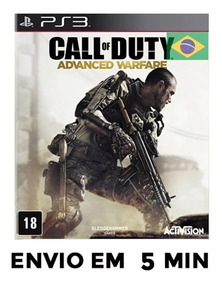 Call Of Duty Advanced Warfare Ps3 Psn Português Envio Rapido