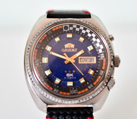 Relógio Orient Race Sk 3 Estrelas - Automático - Top