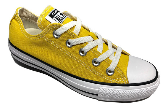 Tênis Converse All Star Ct As Core Ox Amarelo - Original