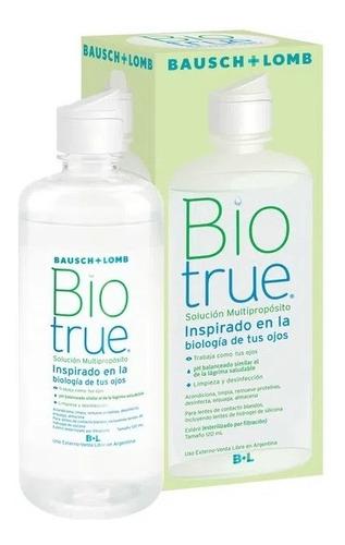 Íquido Solución Multiproposito Biotrue Lentes Blandas X300