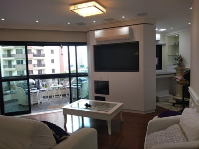 Apartamento Alto Padrão Tatuapé-são Paulo - Ap11746