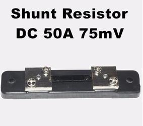 Shunt Resistor De 50a 75mv Para Voltímetro Amperímetro
