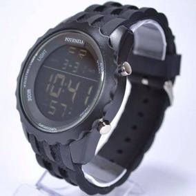 Relógio Masculino Militar Digital Original Potenzia 18k