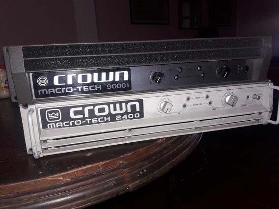 Amplificador Crown Macro Tech9000i