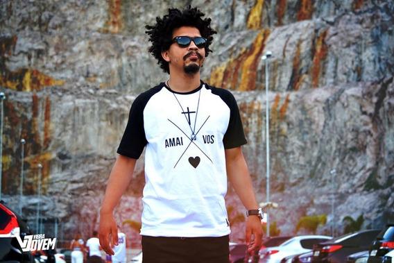 Camisa Amai-vos Branca Masculina