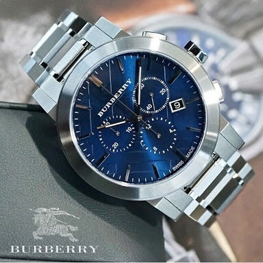 Reloj Exclusivo Y Auténtico Burberry The City Bu9363