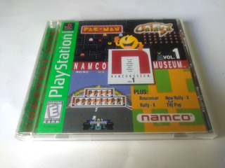 Namco Museum Vol. 1 Ps1 Playstation