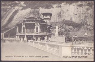 Exposição Nacional 1908 - Rio De Janeiro - 08121721