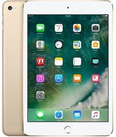 Apple Ipad Mini 4 128gb Wifi Mk9q2ll/a Dourado Original