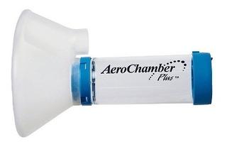 Aerochamber Aerocamara Flow-vu Grande + 5 Años (azul)