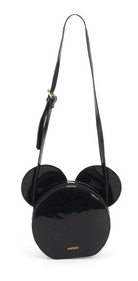 Bolsa Feminina Transversal Mickey Mouse Bmk 78435