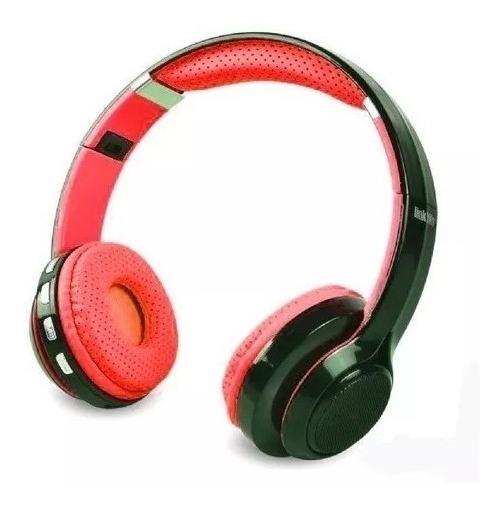 Fone Bluetooth Hf-420bt Fm Cartao Sd Exbom Headset Sem Fio