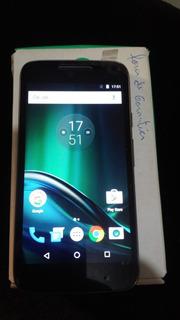 Celular Motorola Moto G4 Play 16gb Vitrine Leiam Anuncio