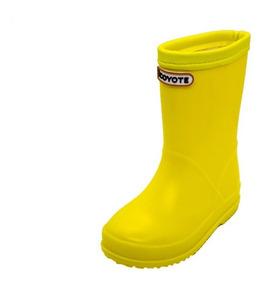 Bota De Agua Amarilla