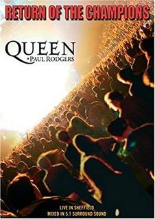 Queen +paul Rodgers Return Of The Champion Dvd Nuevo|sellado