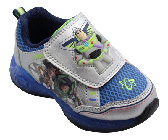 Zapatillas Toy Story Buzz Luz Disney Importadas Usa V.crespo