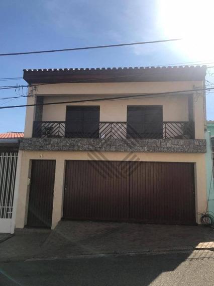 Sobrado Com 3 Dormitórios À Venda, 202 M² Por R$ 400.000,00 - Vila Santana - Sorocaba/sp - So4007
