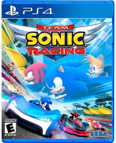 Imagen 1 de 5 de Team Sonic Racing - Playstation 4