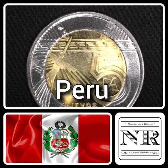 Peru - 5 Soles 2011 Km # 344 - Bimetalica