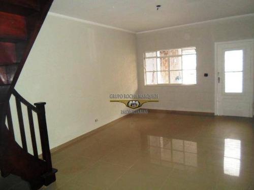 Imagem 1 de 30 de Sobrado Com 2 Dormitórios À Venda, 110 M² Por R$ 530.000,00 - Tatuapé - São Paulo/sp - So1428