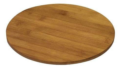 Tabla Para Picar Redonda En Bamboo 27x0,8cm