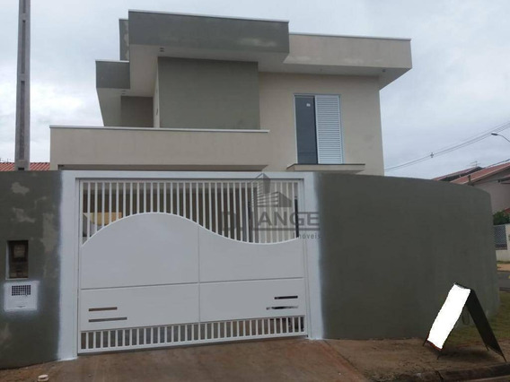 Casa Com 3 Dormitórios À Venda, 144 M² Por R$ 690.000 - Residencial Terras Do Barão - Campinas/sp - Ca12523