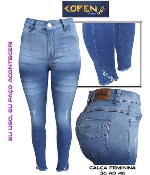 Calca Jeans Feminina Kit Com 3