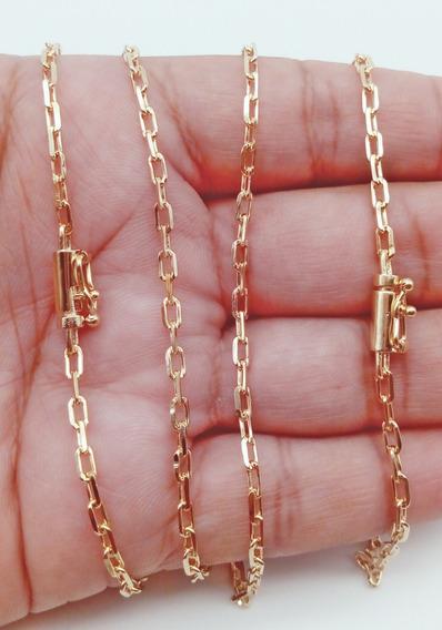 Gargantilha Pulseira Cartier Banhado Ouro Garantia3mm 270