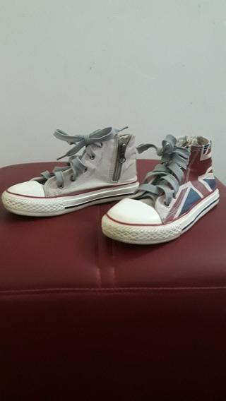 Zapatos Deportivo Tipo Converse