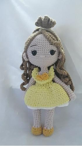 Amigurumi Bella Tejida A Crochet