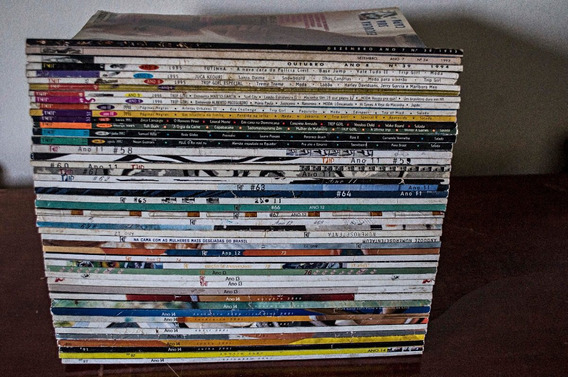Coleção 48 Revistas Trip #revista #trip #raridade