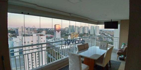 Lindo Apartamento Com Vista Maravilhosa Com 3 Dormitórios À Venda, 124 M² Jardim Esplanada - São José Dos Campos/sp - Ap2506