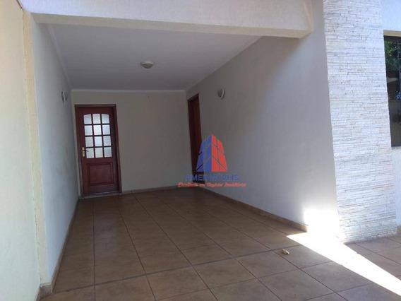 Casa Com 3 Dormitórios À Venda, 158 M² Por R$ 640.000 - Jardim São Paulo - Americana/sp - Ca1049