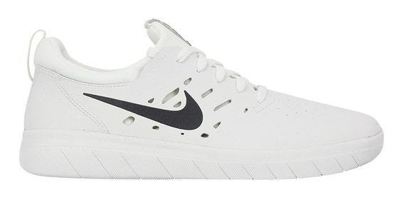 Tênis Nike Sb Nyjah Free Summit White Anthracite Blanc Somme