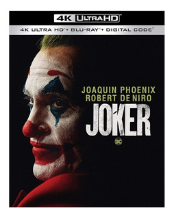 4k Ultra Hd + Blu-ray Joker / Guason (2019)