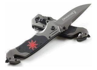 Canivete Dobrável Aço Sobrevivência Browning F118 - C/nfe