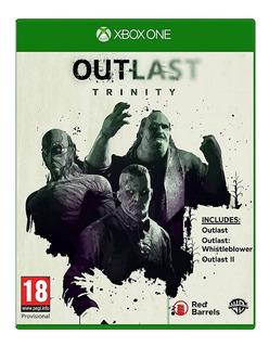 Outlast Trinity Xbox One Nuevo Fisico Sellado Envio Gratis