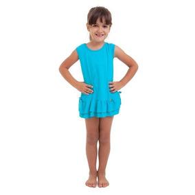 Saída De Praia Infantil Azul Best Fit