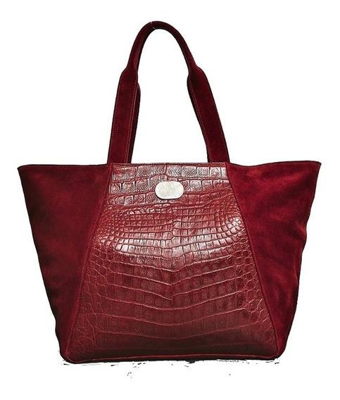 Cartera/bolso De Mujer Cuero Vacuno Rojo Con Cierre Uma
