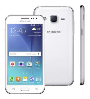 Smartphone Samsung J200 Galaxy 8gb 5mp Branco | Vitrine