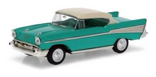 1957 Chevrolet Bel Air Turquesa - Escala 1:43 - Yat Ming