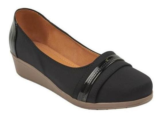 Zapatos Mocasín Dama Casual Negro Mundo Terra 007063